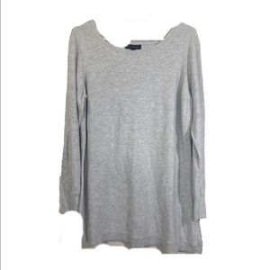 Banana Republic Long Gray Tunic Sweater sz XL